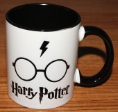 Harry Potter Baskılı İçi Ve Kulpu Renkli Porselen Kupa