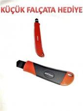 Proff Maket Bıçağı Falçata Metal Ağır Tip Otomatik Kilit