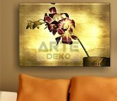 Arte Çiçek Kanvas Tablo