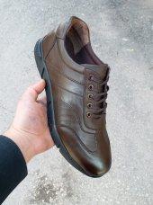 New Prato Erkek Ayakkabı 016 Kahve Antik Deri