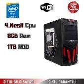 Intel Core İ5 4.nesil 3,20ghz Cpu 8gb Ram 1tb Hdd Masaüstü Bilgisayar