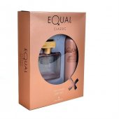 Equal Edt Bayan Classic 100ml + Kofre Deodorant 150ml