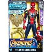 Avengers Iron Spıder Titan Hero Series E0608