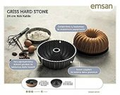 Emsan Griss Hardstone 24cm Kek Kalıbı R.gold