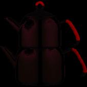 Emsan Anatolia (L) Çaydanlık Takımı Kırmızı