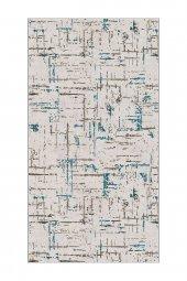 Passion 2171 100x160cm Mavi Kaydırmaz Halı
