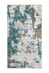 Passion 7003 80x150cm Mavi Kaydırmaz Halı