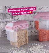 Mert Plast Ölçekli Erzak Kabı 1,75 Lt