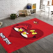 Merinos Halı Lisanslı Angry Birds Big Heart Çocuk Halısı 133x190
