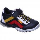 Sanbe 26 30 Cırtlı Işıklı Lastikli Erkek Spor Ayakkabı Lacivert