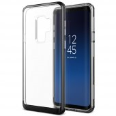 Vrs Design Samsung Galaxy S9 Plus Crystal Bumper Kılıf Metallic Black