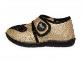 Igor W20109 Gold Black Gold Black Panduf Çocuk Ayakkabı
