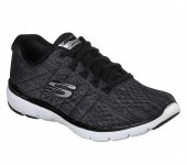 Skechers 13064 Bkw Flex Appeal 3.0 Satellıtes Spor Yürüyüş Ayakkabısı