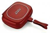 Schafer Granit Grill Pan 32 Cm Kırmızı