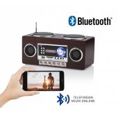 Idance Retromax Portable Bluetooth Hoparlör Ve Radyo