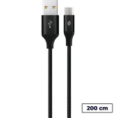 Ttec Alumicable Xl Micro Usb Şarj Kablosu 2mt.