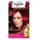 Palette Deluxe 5 889 Şarap Kızılı Saç Boyası...