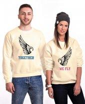 Tshirthane Together We Fly Sevgili Kombinleri Sweatshirt