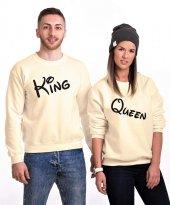 Tshirthane Queen King Sevgili Kombinleri Sweatshirt