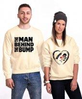 Tshirthane The Man Bump Sevgili Kombinleri Sweatshirt