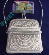 Th 23 Telkari Gümüş Çanta