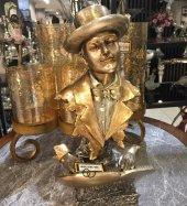 Sadehomedecor Lucky Art Gold Renk Müzisyen Biblo 38 Cm (1 Adet)