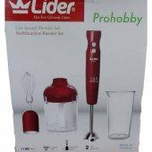 Lider Prohobby Lhb130 Blender Seti Mutfak Robotu Blender Doğrayıcı Rondo Mikser El Blenderi Çırpıcı