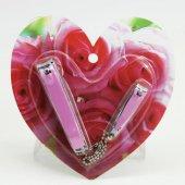 Kalpli Tırnak Makası Set , Manikür Pedikür, Tırnak Bakım 2 Ürün B