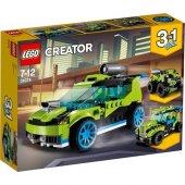 Lego Creator 31074 Roket Yarış Arabası