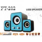 Hoparlör 2+1 Mini Ft 202 Usb Ses Sistemi