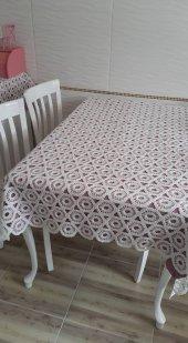 Masa Örtülük Brillant Agır Dantel Kumaş