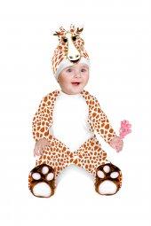 Zürafa Kostümü Bebek Kıyafeti