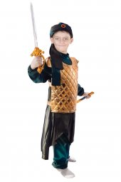 Savaşcı Kostümü Çocuk Kıyafeti