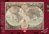 Dünya Haritası Puzzle 1500 Parça