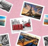 Pop Art 512014 Kartpostal Desenli Duvar Kağıdı