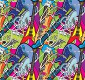 Pop Art 512062 Gitar Görünümlü Duvar Kağıdı