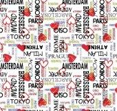 Pop Art 512100 Tokyo Yazılı Duvar Kağıdı