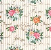 Floral Collection 5003 Çiçek Desenli Duvar Kağıdı