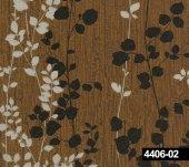 Crown 4406 02 Yaprak Desenli Duvar Kağıdı