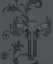 Blue Velvet Mix 492712 Silah Görünümlü Duvar Kağıdı