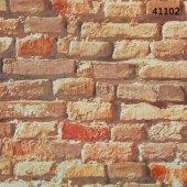 Halley Hana 41102 Tuğla Desenli Duvar Kağıdı
