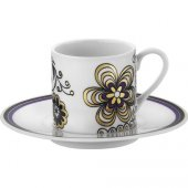 Kütahya Porselen Rüya 12 Parça 6 Kişilik Kahve Fincan Takımı
