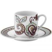 Kütahya Porselen Rüya 12 Parça 6 Kişilik Desen Kahve Fincan Takımı