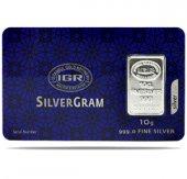 10 Gr Gram Külçe Gümüş