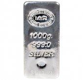 1000 Gr Gram Külçe Gümüş