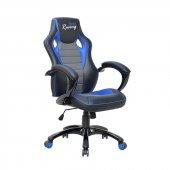 Adore Max Office Racing Oyuncu Ve Çalışma Koltuğu Siyah Mavi Gri Mxy200sm