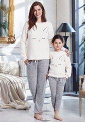 Penye Mood 8247 Kışlık Kız Çocuk Pijama Takım...