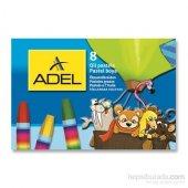 Adel Karton Kutu Pastel Boya 8 Renk