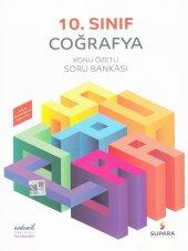10.sınıf Coğrafya Konu Özetli Soru Bankası Supara Yayınları