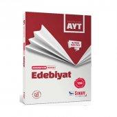 Sınav Yayınları Ayt Edebiyat Aç Konu Katla Soru Akordiyon Serisi